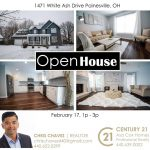 OPEN HOUSE Sunday February 17th from 1-3 pm